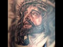 tatuaje tattoo de jesus youtube