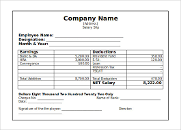 professional looking employee pay stub template free sample vlcpeque