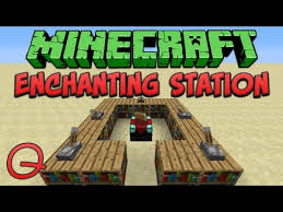 Minecraft Enchanting Table Bookshelves Minecraft Videos Table