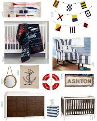 Nautical Baby Nursery Nautical Nursery Inspiration Rustic Baby Chic
