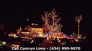 tacky christmas lights tour richmond va camryn limousine youtube