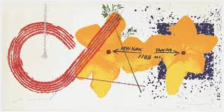 map usf artist rosenquist put ta on the map see his work at usf
