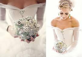 brooch bouquet tutorial wedding trend vintage brooch bouquets