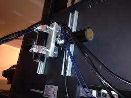 my shop tv and diy ceiling mount garage journal board