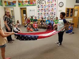 Flag Etiquette 4th Graders Learn Flag Etiquette Dublin Consolidated