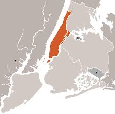 Map Of New York And Manhattan by New York City And Manhattan U2022 Mapsof Net