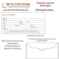 Non Profit Donation Receipt Letter Offering Envelopes Remittance Envelopes And Donation Envelope