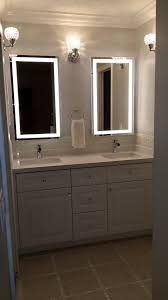 Vertical Bathroom Lights wall mounted lighted vanity mirror led mam84836 commercial grade