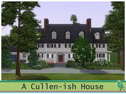 Twilight House Floor Plan Mod The Sims A Cullen Ish House