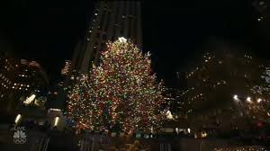christmas tree lighting near me 2017 rockefeller center christmas tree lighting youtube