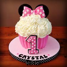 minnie mouse smash cake giant cupcake pan
