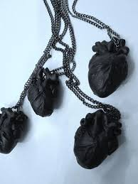 black heart necklace images 25 cute black heart ideas heart nails heart nail jpg