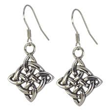stainless steel earrings hypoallergenic surgical stainless steel celtic knot earrings