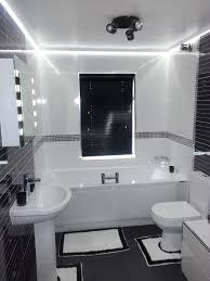 bathrooms design diy bathroom oak light bar paint update edison