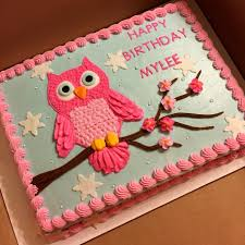 owl birthday cakes owl cake done with buttercream decorations