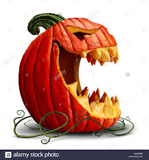 halloween pumpkin cartoons halloween pumpkin and scary jack o lantern character in a side