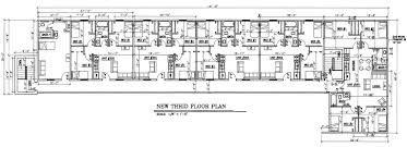 Motel Floor Plans | 3rd flr plans s 3000 jpg 3060 1112 student housing pinterest