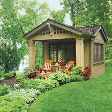 cottage style backyards alhima garden shed turned into guest house