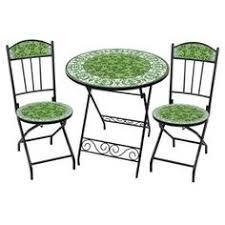 Mosaic Bistro Table Set Bob Roukema Armchair For Jon Jansen 1950s Chaired Pinterest