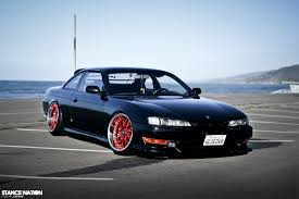 stanced nissan nissan s14 2714805