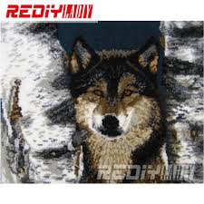 Cushion Rugs Online Get Cheap Wolf Rugs Aliexpress Com Alibaba Group