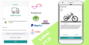 android label label creative android app for woocommerce stores java by agordn