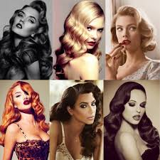 20 stylish retro wavy hairstyle tutorials and hair looks pretty