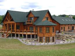 Luxury Log Cabins Floor Plans Log Home Designers A Photo Tour Of This Home Deerfield Log Homes