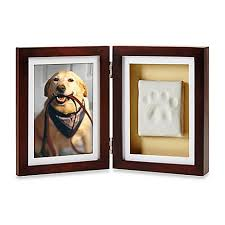 pearhead side photo album pearhead pawprints 4 inch x 6 inch desk frame bed bath beyond
