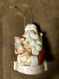 santa merry bell ornament ksa inc