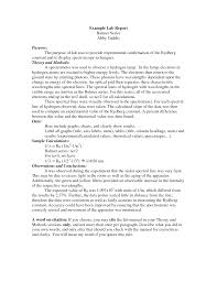 lab report template word science lab report exle fieldstation co