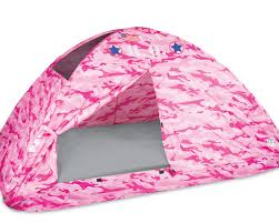 mesmerizing pink camo bed tent twin size pacific play tents
