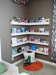 Space Saver Bookcase Baby Room Improvement With Nursery Bookshelf