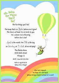 seuss baby shower invitation oh baby the places you u0027ll go