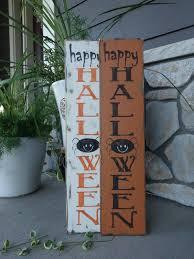 happy halloween sign 6x26 vertical halloween sign halloween