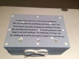 personalised chic jewellery box mother of the bride present
