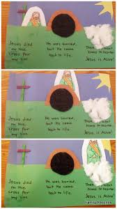 Best 25 Jesus Easter Ideas On Jesus Found Jesus Is Alive Preschool Craft Best 25 Jesus Is Risen Ideas On
