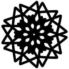 Snowflake Flower - silhouette design store view design 215071 snowflake flower