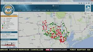 map houston harris county flood warning interactive map for harris county story kriv