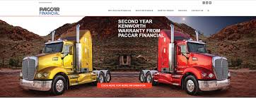 paccar truck parts paccar financial launches new website kenworth australia