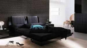 bedroom with beautiful floating bed decorating faaam