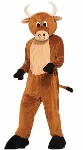 Brutus Buckeye Halloween Costume Amazon Forum Novelties Men U0027s Brutus Bull Plush Mascot