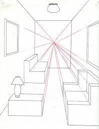 comment dessiner une chambre comment dessiner a chambre en utilisant un point point de vue