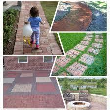 Cleaning Concrete Patio Mold Diy Pavement Driveway Paving Brick Patio Path Garden Stone Walk