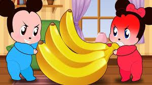 ᴴᴰ mickey mouse u0026 minnie mouse babies scramble bananas funny