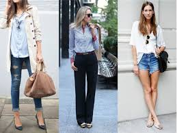 10 ways to style the button down shirt fashiongum com