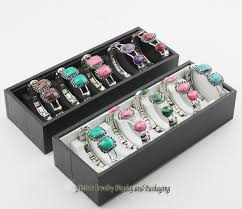 bracelet display box images 4pcs lot bracelet tray 10 grids ankle bangle storage boxes chain jpg