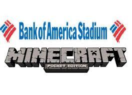 Bank Of America Stadium Map by Minecraft Pe Bank Of America Stadium Tour Youtube