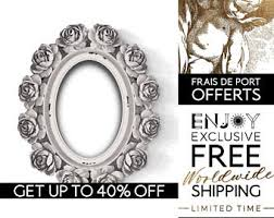 Shabby Chic Picture Frames Wholesale by Ornate White Frame Etsy