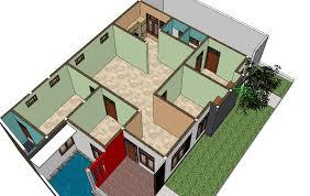 desain rumah corel denah rumah coreldraw fauzan creator membuat denah rumah dengan